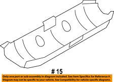 FORD OEM 08-14 E-350 Super Duty 6.8L-V10 Exhaust-Muffler Shield Left 9C2Z5G221B