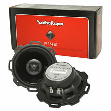 """Rockford Fosgate P142 4"""" Punch Series 2-Way Car Audio Coaxial Speakers NEW"""