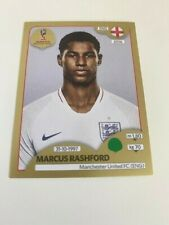 Panini Marcus Rashford Rookie Sticker GOLD FIFA WORLD CUP 2018 STICKER SWISS