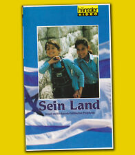 Cliff Richard SEIN LAND (His) Barrows VHS Israel Musik RELIGION Heilige Schrift