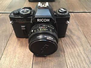 RICOH Kr-10 Super 35mm Slr Camera With Lens