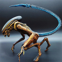 NECA Toy Aliens Blue Alien Xenomorph 18 cm figure Predators