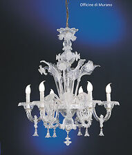 Murano glass chandeliers ebay chandelier murano 10016 crystal mount chrome mozeypictures Image collections