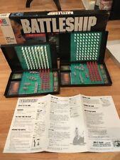BATTLESHIP MILTON BRADLEY NAVAL COMBAT GAME VINTAGE 1990 INCOMPLETE