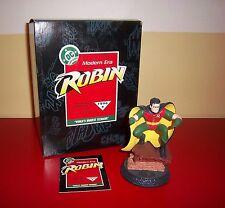 MODERN ERA ROBIN STATUE / FIGURINE NEW IN BOX HALLMARK  1996 DC SUPER HEROES