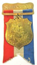 1892 Souvenir COLUMBIAN EXPOSITION badge medal pin Chicago WORLD'S FAIR