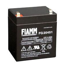 BATTERIA FIAMM FG20451 12V 4.5A PIOMBO GEL ERMETICA 4,5AH RICARICABILE 13,8V 4.8