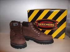 New! Skechers Mens Tom Cats – Bully Expresso Lace Up Boots-Style 6606-Size M9.5