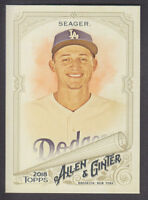 Topps - Allen & Ginter 2018 - Base # 174 Corey Seager - Los Angeles Dodgers