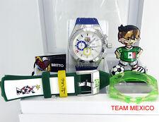 TECHNOMARINE BRITTO AUTHENTIC WORLD CUP SOCCER 2014 BOX SET MEXICO 114023B