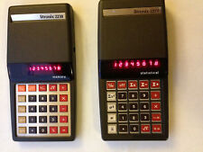 Pair of Vintage Litronix Calculators 2230 2270 Tested Works 2230r 2270r
