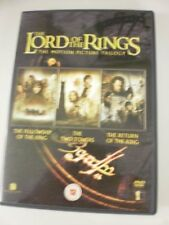 The Lord of the Rings Trilogy DVD Elijah Wood