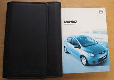 GENUINE MAZDA 2 HANDBOOK OWNERS MANUAL WALLET 2007-2010 PACK B-279