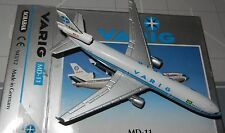 Schabak 1:600 Scale Diecast 943-12 Varig Airlines McDonnell Douglas MD-11 New