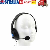 Wired Gaming Headset Headphones with Microphone MIC for PC Sony PS4 PlayStation