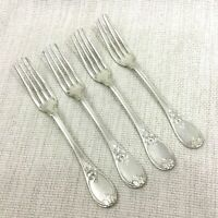 Antique Christofle Silver Plated Cutlery Dinner Table Forks Trianon Versailles