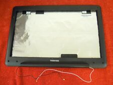 Toshiba L505D-S5983 Lid - LCD Back Cover w/Antenna and Bezel #225-48
