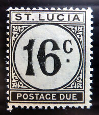 St LUCIA 1949 - 16c Postage Due SGD10 U/M NC1542