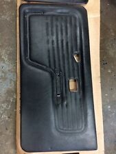 BLACK DOOR PANEL CARD RIGHT PASSENGER ONLY CONVERTIBLE BMW E30 325 318