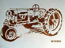 Tractor Vintage Tractor Stencil/Template Reusable 10 mil Mylar