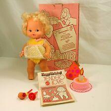 Tender Love Happy Birthday Doll In Box W Accessories Mattel 1975