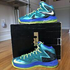 Nike Lebron X 10 P.S Elite Basketball Shoes Size 12