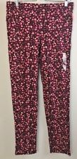 C R B  Girl Plus Size  XL Legging Pull-On Pant Women Fitness Floral Pink Jegging