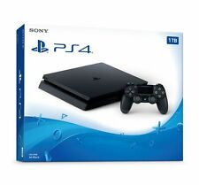 Brand New Sony PlayStation 4 PS4 Slim 1TB Black Console with full warranty