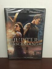 Jupiter Ascending 2015 DVD+UV  Channing Tatum New (BEWARE OF FAKES SOLD)