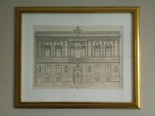 Century Club, New York City, 1889, Framed Architecture Lithograph