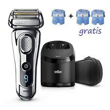 BRAUN 9295cc Series 9 Rasierer Wet&Dry mit Reinigungsstation 2 gratis Kartuschen