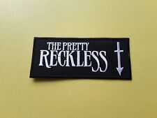 POP, ROCK, PUNK, METAL MUSIC SEW ON & IRON ON PATCH:- THE PRETTY RECKLESS