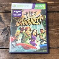 Kinect games - Kinect Adventures (Microsoft Xbox 360, 2010)- Complete