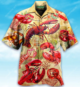 You Are My Lobster Unisex Hwaiian Shirt Full Size S-5XL