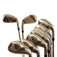SENIOR GOLF CLUBS NEW CUSTOM MADE IRONS 4 - SW TAYLOR FIT IRON SET A FLEX CLUB