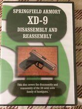 Springfield XD Armorer Course Gunsmith Repair NEW  DVD