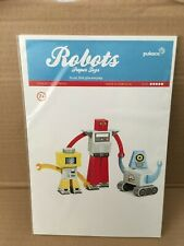 Pukaca Paper Toys for Kids ROBOTS