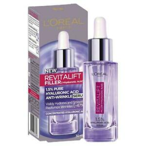 L'Oreal Paris Revitalift Filler Hyaluronic Acid Anti Wrinkle Serum 30ml