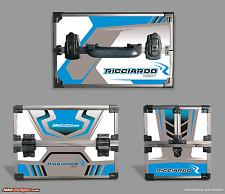 Ricciardo Cassetta Degli Attrezzi Adesivo Kit-per adattarsi Maplin Cassetta degli attrezzi-vedere il nostro negozio-Kart