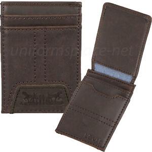 Levis Money Clip Wallet Men RFID Blocking Magnetic Wallet Black Leather 31LV1600