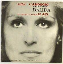 "7"" Single - Dalida - Gigi L'Amoroso Gigi L'Amour - #S1156 - washed & cleaned"