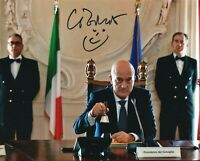 Claudio Bisio - Foto autografata attore Rare Signed Photo Autografo Cinema