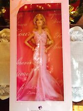 """BARBIE  """"PINK RIBBON"""" BREAST CANCER TRIBUTE CREATED BY ROBERT BEST. NRFB MINT."""