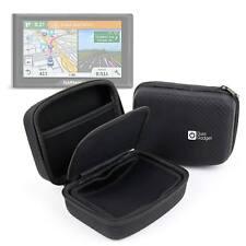 EVA Case For Garmin Drive 51 Sat Nav In Hard Black w/ Netted Pocket