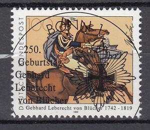 BRD 1992 Mi. Nr. 1641 gestempelt BONN Sonderstempel , mit Gummi (17759)