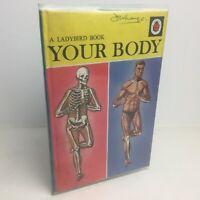 Vintage Ladybird Book YOUR BODY Nature Book Series 536 - 2/6 Net - Hardback