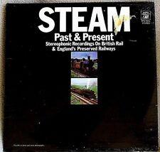 Steam Past & Present British Trains 1970 Audio Fidelity SOUND EFFECTS Sealed LP