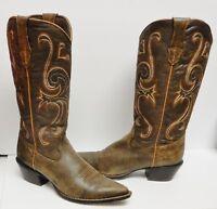 Durango Crush Boots Western Cowboy Jealousy RD3593 Brown Women's 8.5 M