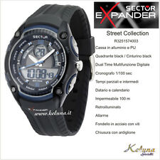 Orologio Sector Expander Street R3251574003 -89- Dual Time- 10Atm- Crono Digital