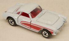 Road Champs 1957 Chevrolet Corvette White Hardtop #39 Chevy Vette w/Box 1/64